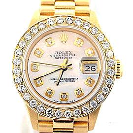 Rolex Datejust Presidential Diamond 18K Yellow Gold 26mm Watch