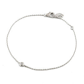 CARTIER 18k white Gold Diamond Diaman Leger Bracelet HK-2086
