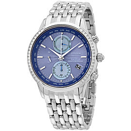 Citizen World Chronograph A-T FC5000-51L 38mm Womens Watch