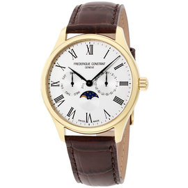 Frederique Constant Classics FC-260WR5B5 Yellow Gold 40mm Mens Watch