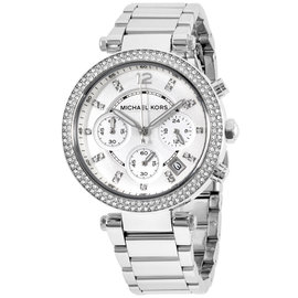 Michael Kors Parker MK5353 Silver Dial Stainless Steel 39mm Womens Watch