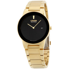 Citizen Axiom AU1062-56E Gold-Tone Stainless Steel 40mm Mens Watch