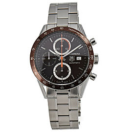 TAG Heuer New Carrera Tachymetre CV2013 Chronograph Automatic Mens Watch