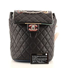 Chanel Cuba Urban Spirit Backpack Quilted Lambskin Small