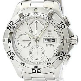 Polished TAG HEUER Aquaracer Chronograph Quartz Mens Watch CAF2011