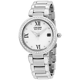 Citizen EO1100-57A Stainless Steel with Diamonds 33mm Womens Watch