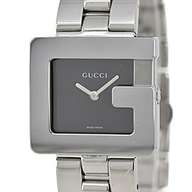 GUCCI 3600J black Dial SS Quartz Boy's Watch