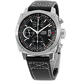 Oris BC4 67476164154LS Stainless Steel Chronograph Automatic 43mm Mens Watch