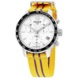 Tissot Quickster T0954171703705 Stainless Steel & Nylon Quartz 42mm Mens Watch