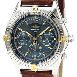 Polished BREITLING Stainless Steel/18K Gold Colt Cockpit watch HK-2014