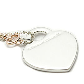 TIFFANY & Co Silver Return To Tiffany Key Pendant Necklace