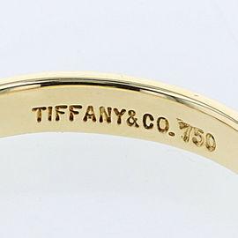 TIFFANY & Co. K18 Yellow Gold diamond Ruby Ring TBRK-557
