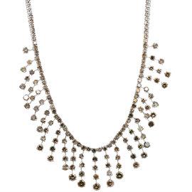 Platinum & 38.00ct Chocolate Diamond Necklace