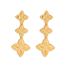 Roberto Coin New Barocco 18K Yellow Gold Earrings