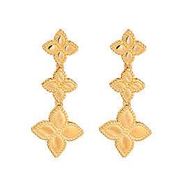 Roberto Coin New Barocco 18K Yellow Gold Earrings