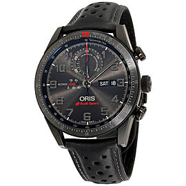 Oris Audi Sport 77876617784LSBLK 44mm Mens Watch