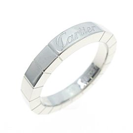 Cartier 18K White Gold Lanieres ring TkM-278