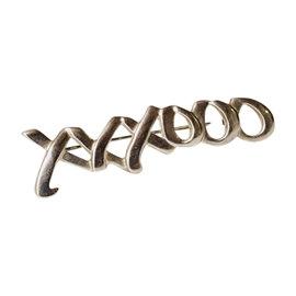 Tiffany & Co. Paloma Picasso 925 Sterling Silver Graffiti Love & Kisses Brooch