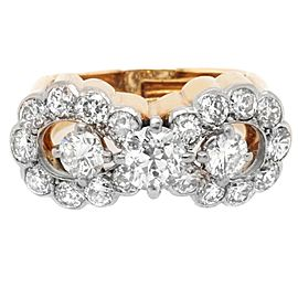 Cartier Monture Diamond 18 Karat Gold Ring