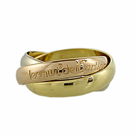 CARTIER 18k Gold Trinity ring CHAT-990