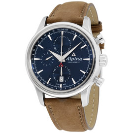 Alpina Alpiner AL750N4E6 Stainless Steel & Leather Automatic 42mm Mens Watch