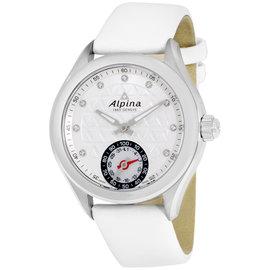 Alpina Alpiner AL285STD3C6 Stainless Steel & Leather Quartz 39mm Womens Watch