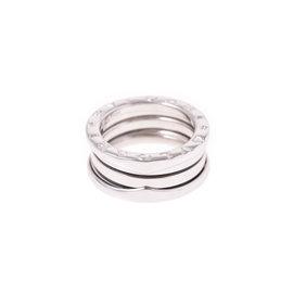Bulgari B-Zero1 18K White Gold Ring Size 4.5