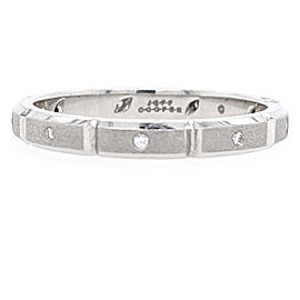 Jeff Cooper R-4002/D Platinum Diamonds Ring