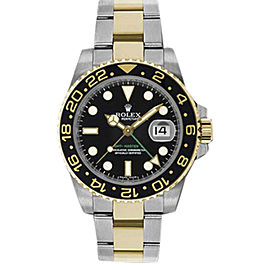 Rolex GMT-Master II 116713LN Stainless Steel & 18K Yellow Gold 40mm Mens Watch