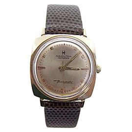 Hamilton Thin-O-Matic 10K Gold Filled Winding 31mm Mens Watch 1960s