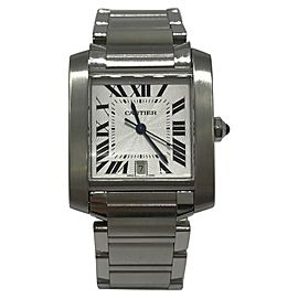 Cartier Tank Francaise 2302 36.50mm Mens Watch