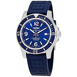 Breitling Superocean 44 44MM Men's Blue Rubber Watch