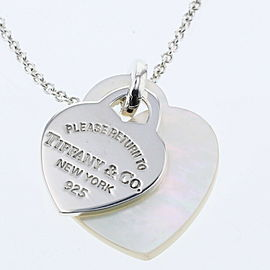 TIFFANY & Co 925 Silver Necklace TBRK-416