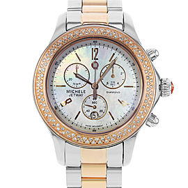 Michele Jetway MWW17A000017 39mm Womens Watch