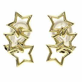 TIFFANY & Co. 18k Yellow Gold Triple Earring