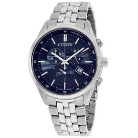 Citizen AT214152L Stainless Steel with Sapphire Blue Dial 42mm Mens Watch