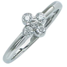 Tiffany & Co. Platinum with 0.05ct Diamond Ring Size 5.5