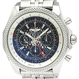 BREITLING Bentley B04 GMT Steel Automatic Mens Watch AB0431