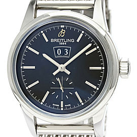 Polished BREITLING Transocean 38 Big Date Steel Automatic Watch A16310
