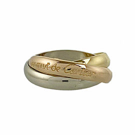 CARTIER 18k Gold Trinity Ring CHAT-991