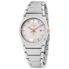 Calvin Klein Damenuhr K6K33B46 Silver Dial 30mm Womens Watch