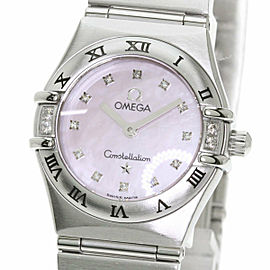 OMEGA 1567.66 Constellation Stainless Steel/Stainless Steel 12P Diamond Watch TNN-2053