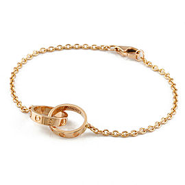 CARTIER 18K Pink Gold Baby love Bracelet CHAT-252