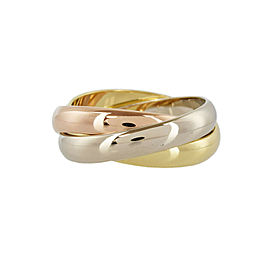 CARTIER 18k Gold Trinity ring CHAT-1007