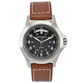 Hamilton Khaki King H644510 Day Date Quartz Men's Watch