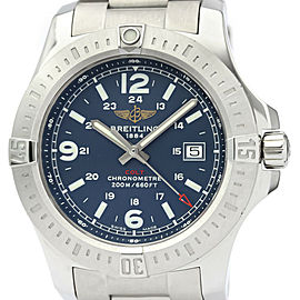 Polished BREITLING Colt Stainless Steel Quartz Mens Watch A74388