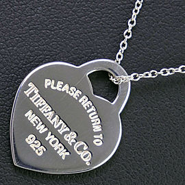 TIFFANY&Co Silver925 Return to TIFFANY & Co. Necklace NST-82