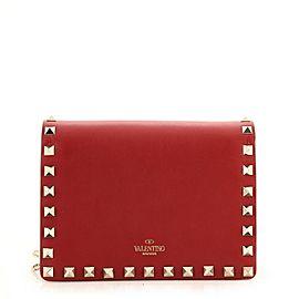 Valentino Rockstud Pouch Crossbody Bag Leather Mini