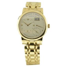 A. Lange & Sohne Lange 1 101.321 18K Yellow Gold 38mm Watch