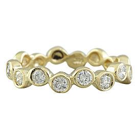 0.55 Carat 14K Yellow Gold Diamond Ring
